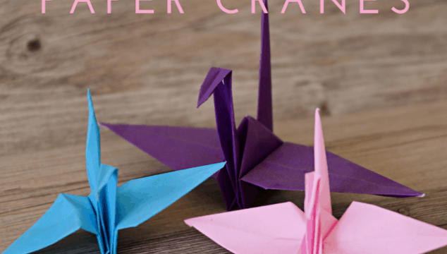 How to fold an Origami Paper Crane