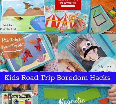 Kids Road Trip Boredom Hacks