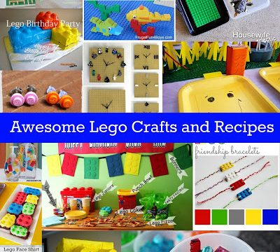 Awesome Lego Crafts and Recipes