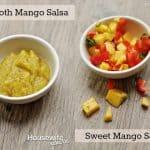 Mango Salsa made two ways