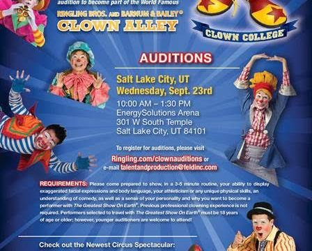 I want to be a clown!