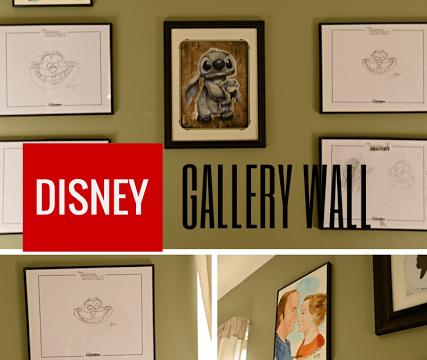 Disney Gallery Wall
