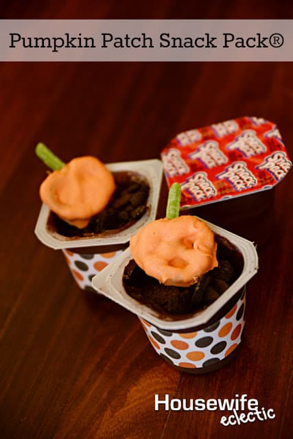 Pumpkin Patch Pudding Cups