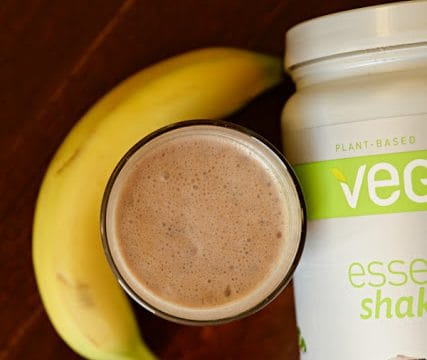 Vegan Chocolate Peanut Butter Protein Shake