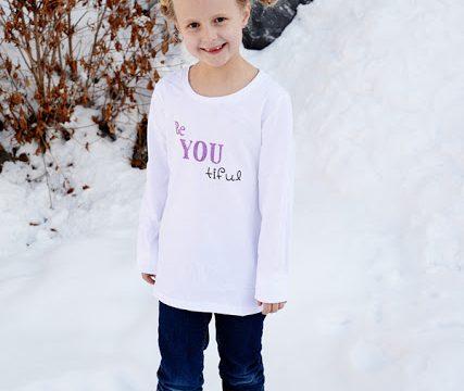 Be YOU tiful Glitter Shirt