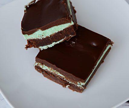 Decadent Mint Brownies