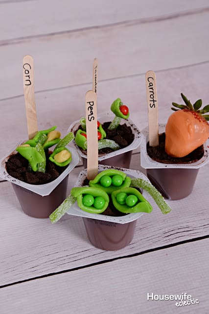 Garden Snack Pack Pudding Cups