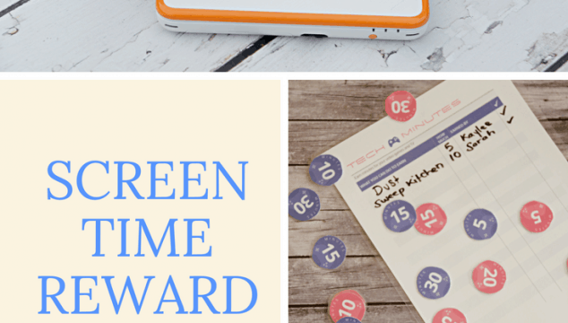 Screen Time Reward Tokens