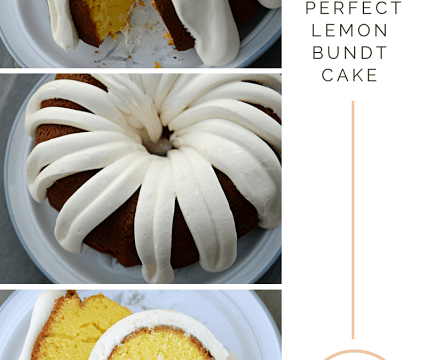 The Perfect Lemon Bundt Cake