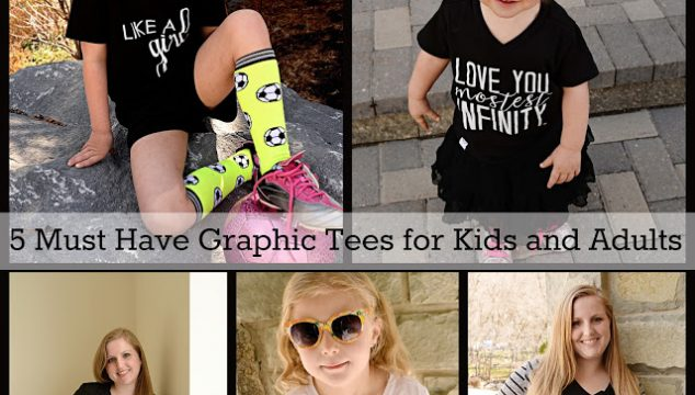 5 Must Have Graphic Tees