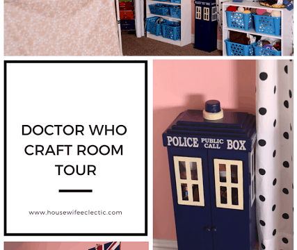 Doctor Who Craft Room Tour