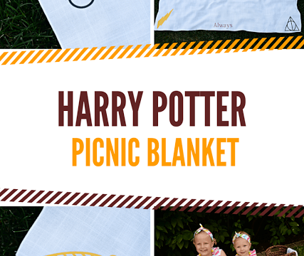 Harry Potter Picnic Blanket