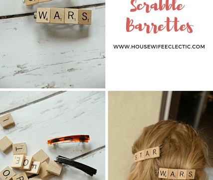 Star Wars Scrabble Barrettes