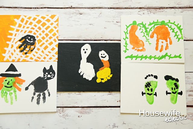 Crafts to remember Baby's First Halloween