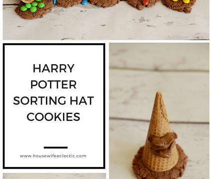 Harry Potter Sorting Hat Cookies