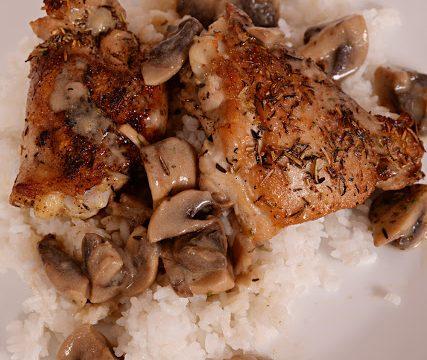 Herb & Mushroom Chicken