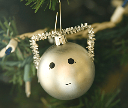 Easy Cyberman Ornament
