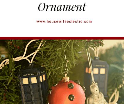 Easy Dalek Ornament