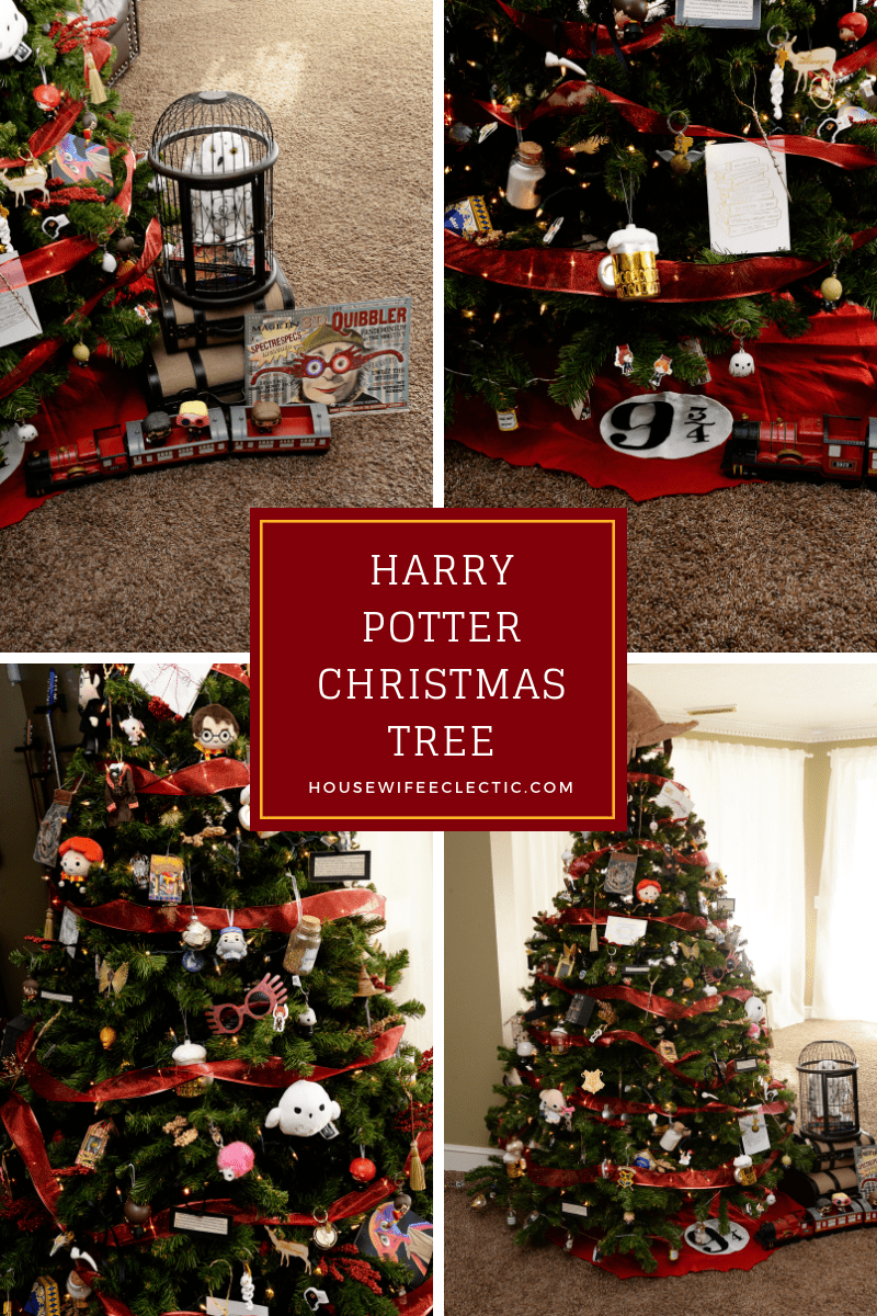 Harry Potter Christmas.Harry Potter Christmas Tree Housewife Eclectic