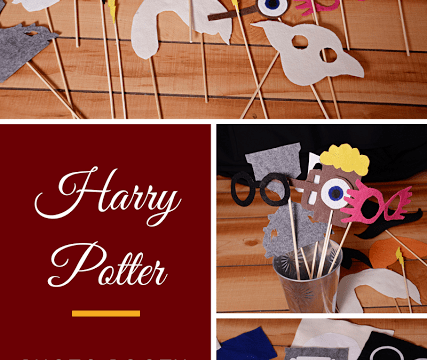 Harry Potter Photo Booth with a Cricut