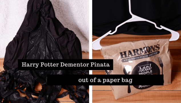 Harry Potter Dementor Paper Bag Pinata