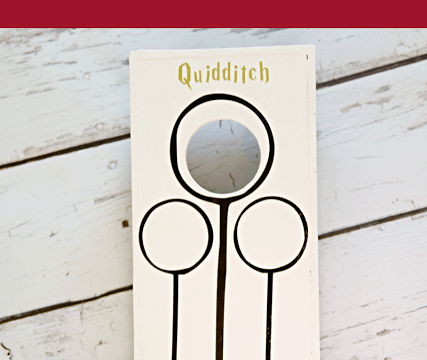 Harry Potter Quidditch Cornhole