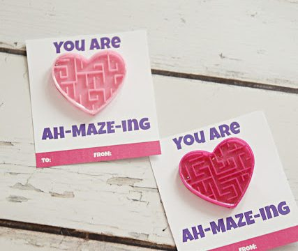 You are AH-MAZE-ING Valentine with free printable