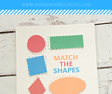 Shape Matching Free Printable
