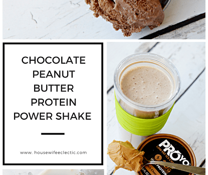 Chocolate Peanut Butter Protein Power Shake
