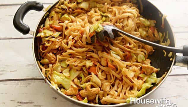 Gluten Free Chicken Lo Mein