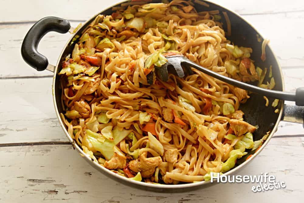 Gluten Free Chicken Lo Mein Housewife Eclectic