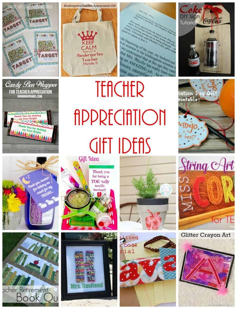 Amazing Teacher Appreciation Ideas Housewife Eclectic