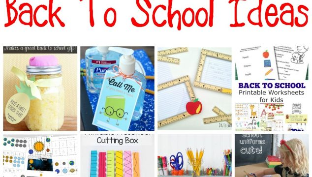 16+ Back to School Ideas