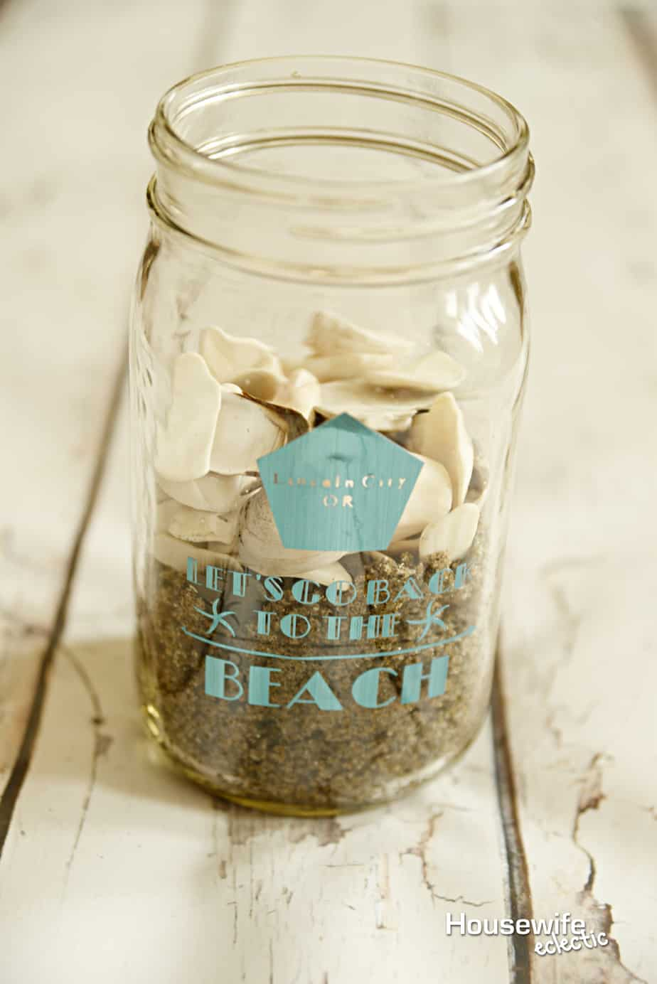 Beach Memory Jar A Cricut Make It Now Project