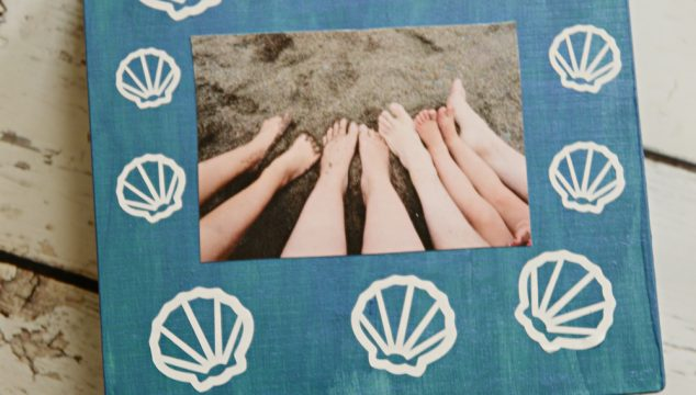 Beach Vacation Memory Box + Cricut Tools and How to Use Them