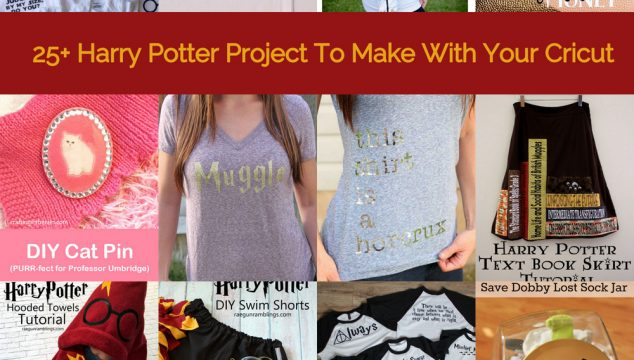 25+ Harry Potter Projects to Make With Your Cricut
