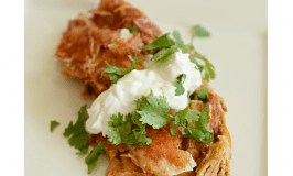 Gluten Free Crockpot Chicken Ranch Enchiladas and Box Tops for Education