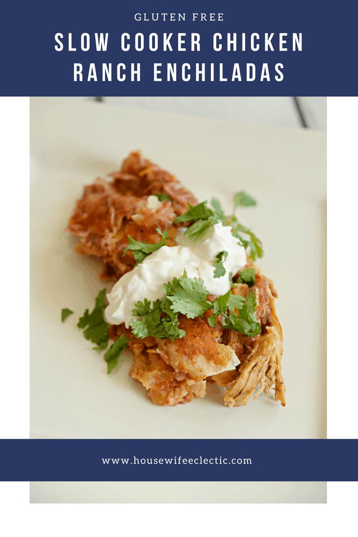 Gluten Free Crockpot Chicken Ranch Enchiladas And Box Tops
