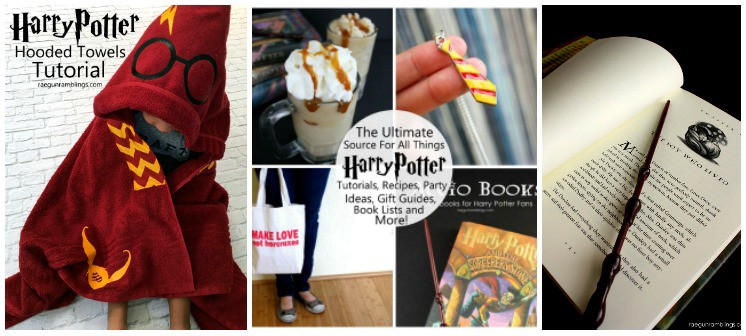 amazing Harry potter crafts reading lists recipes and party ideas