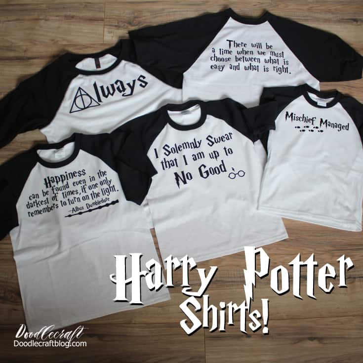 25 Harry Potter Projects To Make With Your Cricut