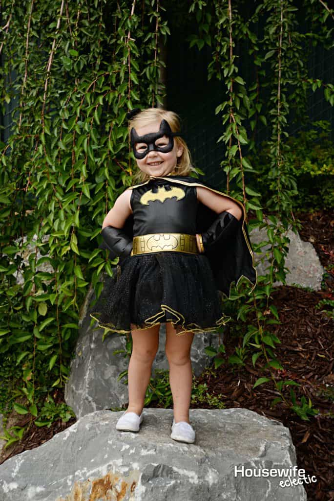 The perfect Batgirl costume for the little super hero in your life.