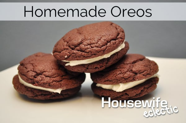 Make you favorite chocolate cookie at home with these copycat oreos