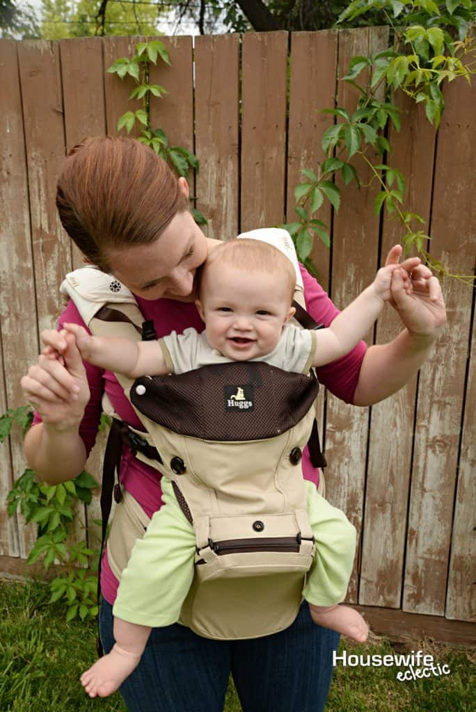 A Baby Carrier where the baby can safely face out- Must Have Baby Items