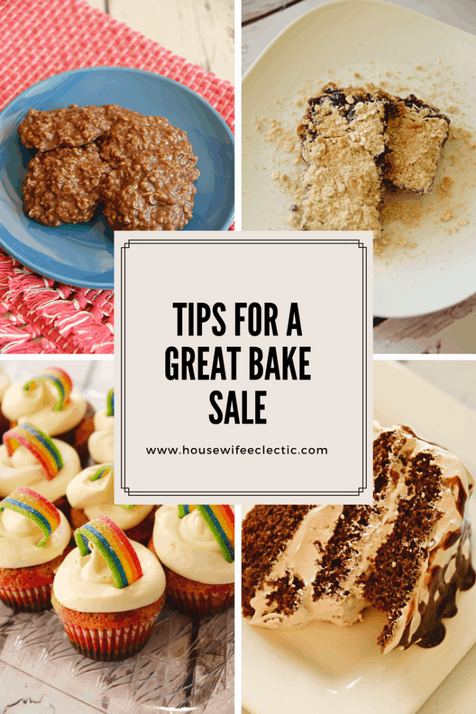 Everything you need to know to host a great bake sale!