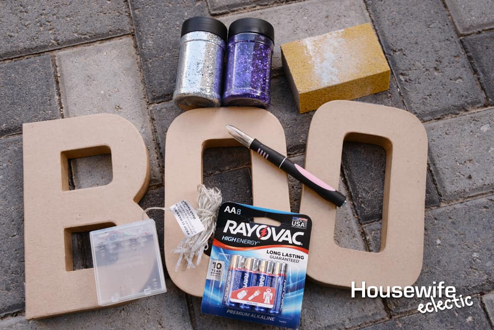 DIY Marquee Letters: Supplies for DIY Letters