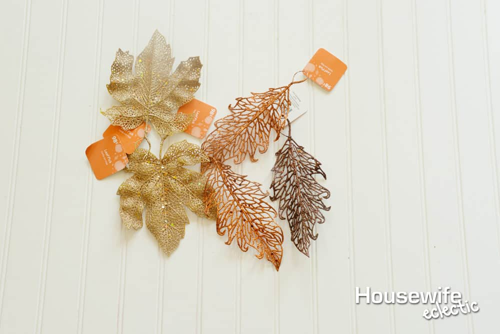 Glitter Fall Leaves