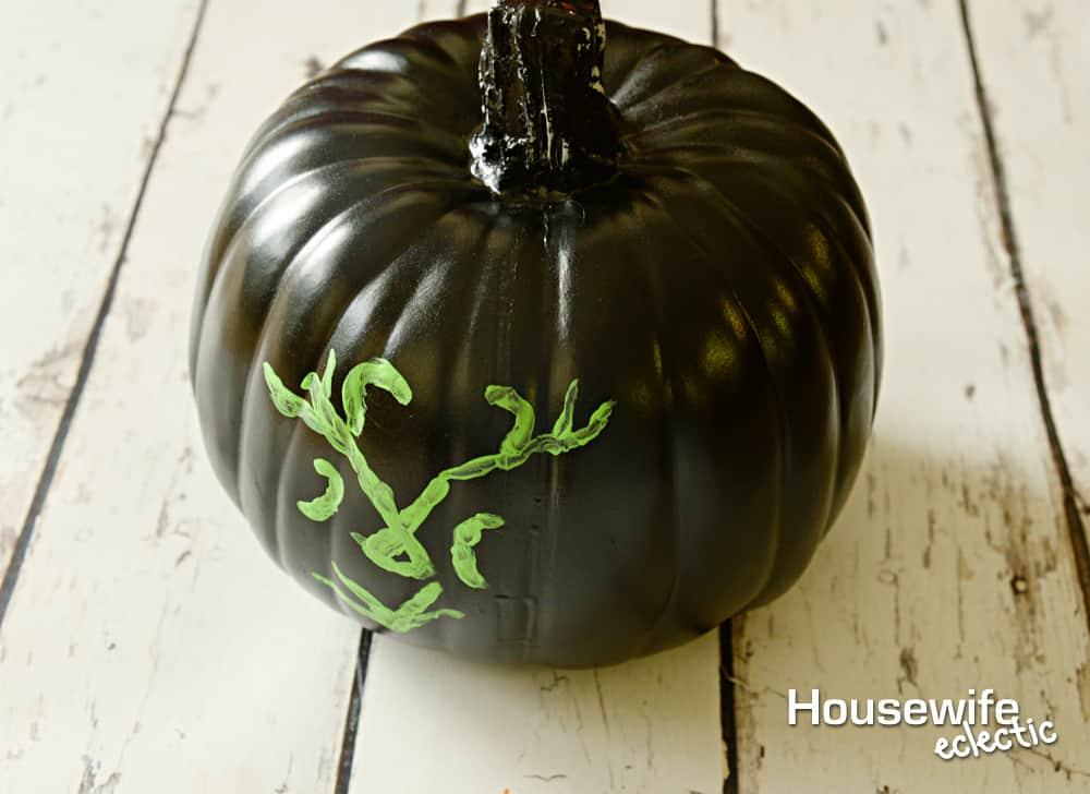 No Carve Frozen Pumpkins - Rose Mauling