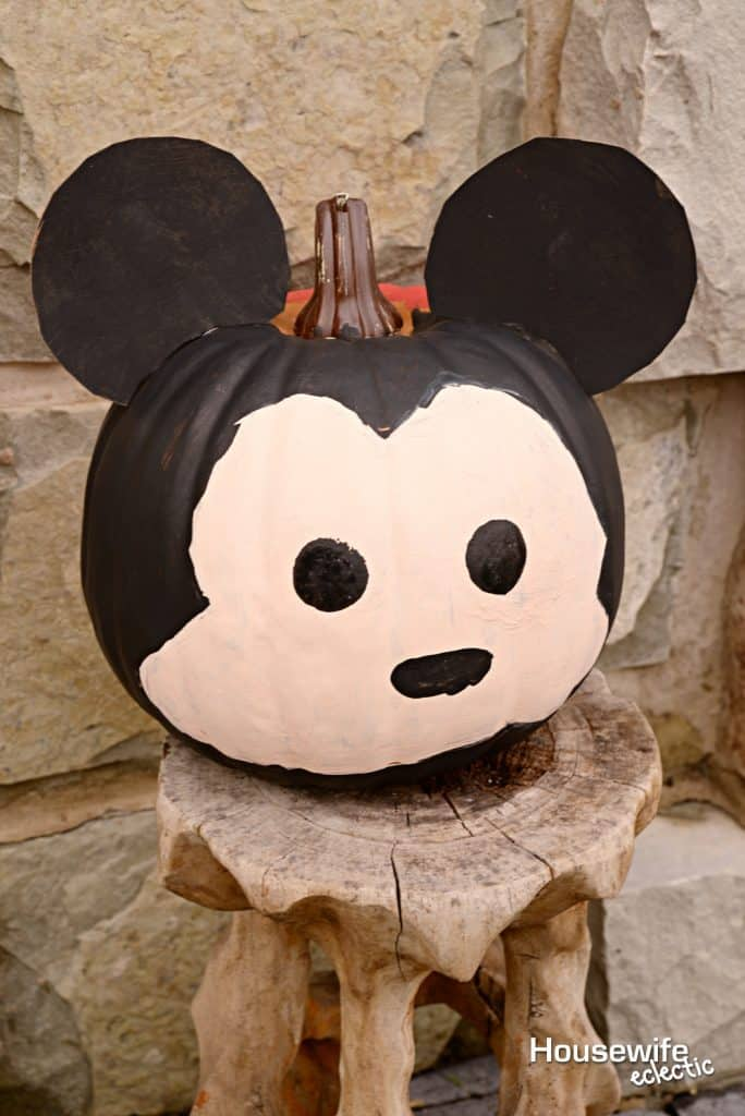 Mickey and Minnie Tsum Tsum Pumpkins - Mickey Tsum Tsum Pumpkin