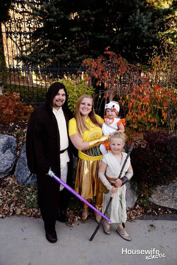 Fall Bucket List : Family Star Wars Costume