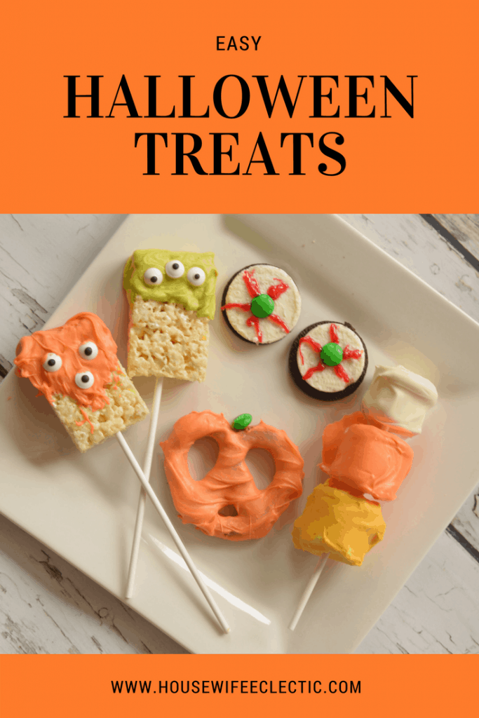 Easy Halloween Treats: Easy treats to make with your kids for Halloween